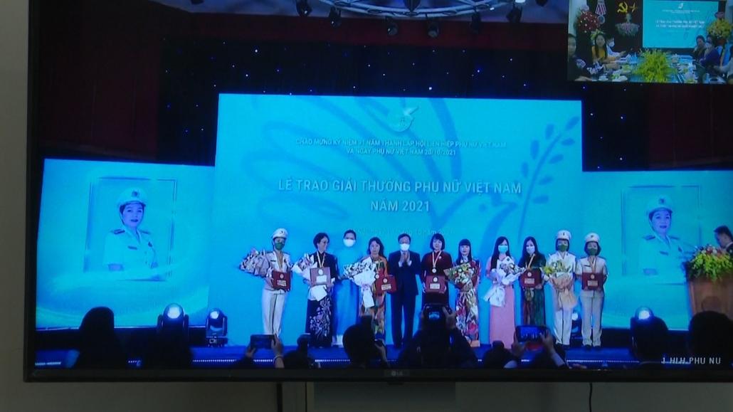 Lễ trao giải thưởng Phụ nữ Việt Nam và cuộc thi Phụ nữ khởi nghiệp 2021