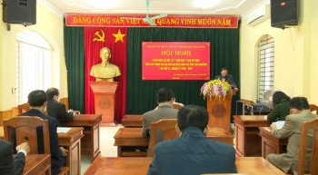 Lấy ý kiến đóng góp vào Dự thảo Báo cáo Chính trị Đại hội đại biểu Đảng bộ tỉnh lần thứ XX, NK 2020-2025