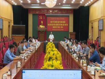 Tiếp thu ý kiến tham gia vào dự thảo báo cáo chính trị Đại hội đại biểu Đảng bộ tỉnh lần thứ XX