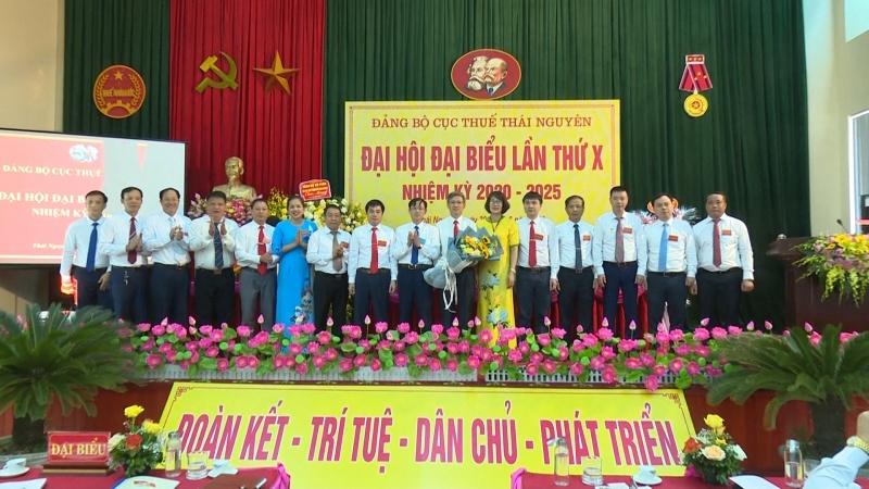 dai hoi dai bieu dang bo cuc thue thai nguyen lan thu x nhiem ky 2020 2025