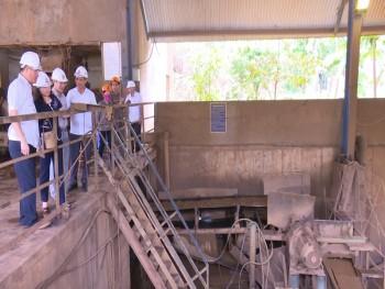 Kiểm tra công tác an toàn, vệ sinh lao động tại Mỏ sắt Tiến Bộ