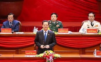 Thông cáo báo chí về ngày làm việc thứ ba Đại hội XII của Đảng