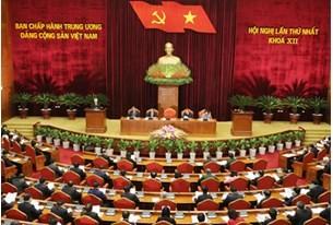 Thông cáo báo chí Hội nghị lần thứ nhất Ban Chấp hành Trung ương Đảng khoá XII