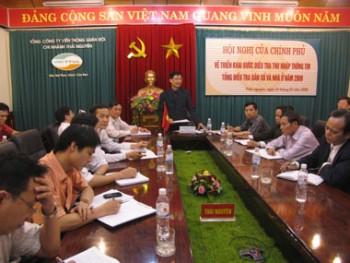 chinh phu to chuc hoi nghi truc tuyen ve trien khai tong dieu tra dan so va nha o