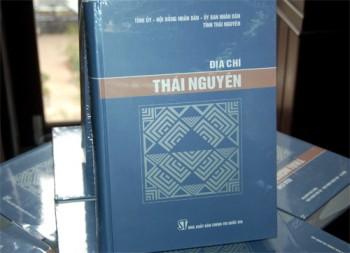 thai nguyen cong bo gioi thieu cuon sach dia chi thai nguyen