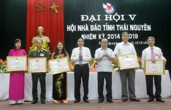 dai hoi lan thu v hoi nha bao thai nguyen