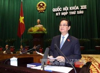 thu tuong chinh phu tra loi chat van truoc quoc hoi