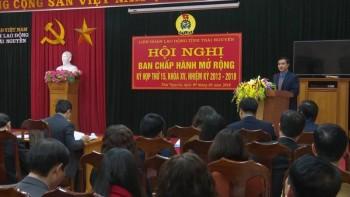 hoi nghi ban chap hanh lien doan lao dong tinh thai nguyen mo rong ky hop thu 15 khoa xv nhiem ky 2013 2018