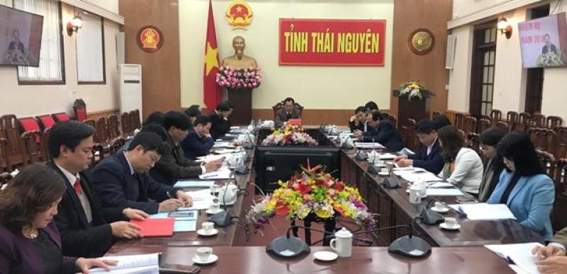 hoi nghi truc tuyen trien khai cong tac lao dong nguoi co cong va xa hoi nam 2018