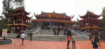 Rộn ràng Lễ hội đình, đền, chùa Cầu Muối, Phú Bình
