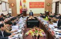 phien hop lan thu 18 ubnd tinh thai nguyen nhiem ky 2016 2021