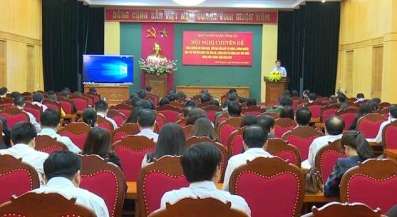 thai nguyen hoi nghi chuyen de ve bao ve cham soc va nang cao suc khoe nhan dan