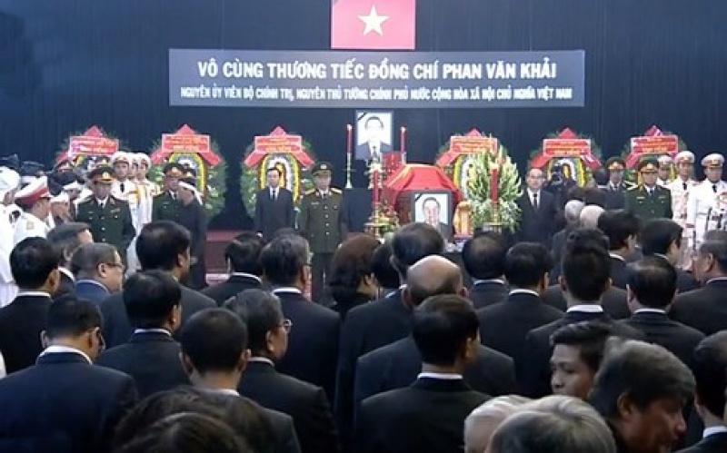 xuc dong le truy dieu va an tang nguyen thu tuong chinh phu phan van khai