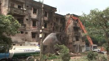 Thành phố Sông Công, Thái Nguyên: Đối thoại trực tiếp với các hộ dân chưa đăng ký di dời tại nhà 4 tầng
