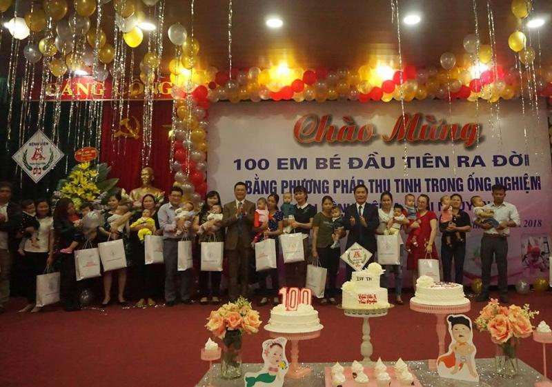 Bệnh viện A Thái Nguyên đón em bé thứ 100 ra đời bằng kỹ thuật thụ tinh trong ống nghiệm