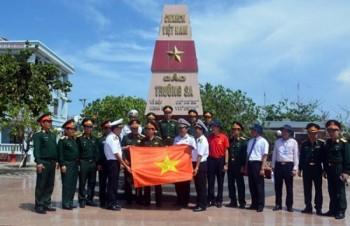 Đoàn công tác Tổng cục Chính trị kiểm tra, thăm Trường Sa, Nhà giàn DK l