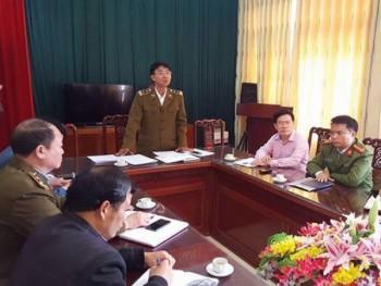Thông báo của Viện Khoa học Hình sự về giám định mẫu Chè khô ở Thái Nguyên