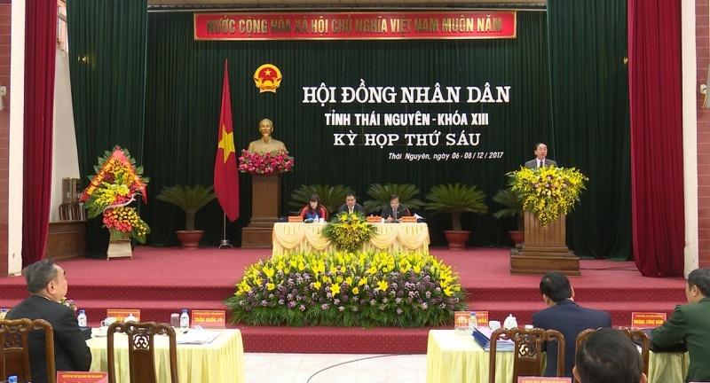 khai mac ky hop thu 6 hdnd tinh thai nguyen khoa xiii nhiem ky 2016 2021