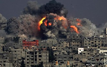 israel khong kich dai gaza it nhat 25 nguoi bi thuong