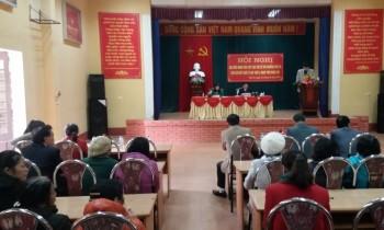 Đoàn đại biểu HĐND tỉnh tiếp xúc với cử tri phường Phú Xá, Thành phố Thái Nguyên.