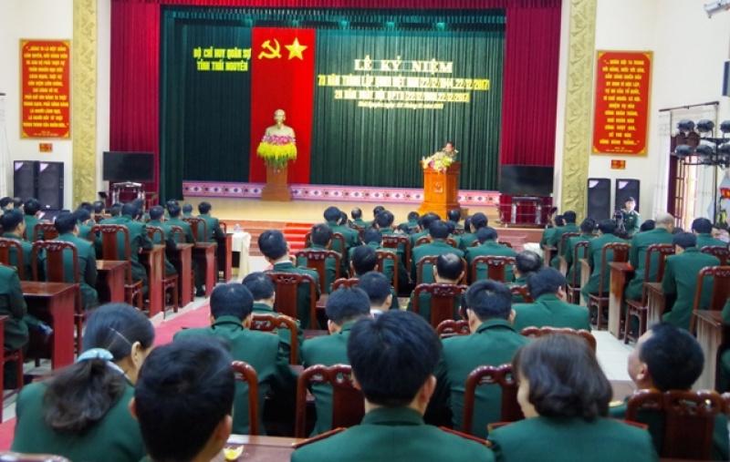 Kỷ niệm 73 năm ngày truyền thống QĐND Việt Nam và 28 năm ngày Hội Quốc phòng toàn dân