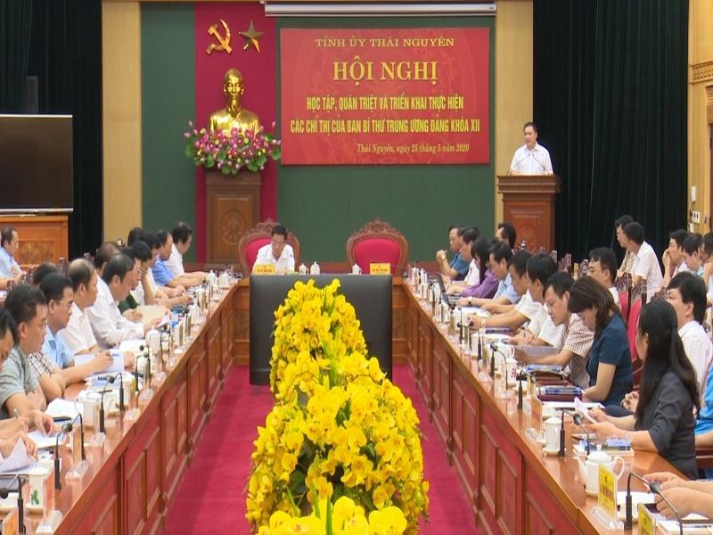 Học tập, quán triệt và triển khai thực hiện các Chỉ thị của Ban Bí thư Trung ương Đảng khóa XII