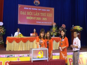 dai hoi dang bo truong thpt gang thep lan thu xxi nhiem ky 2020 2025