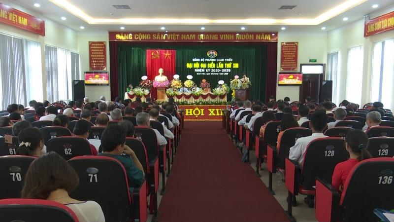 dang bo phuong quan trieu thanh pho thai nguyen dai hoi lan thu xiii nhiem ky 2020 2025