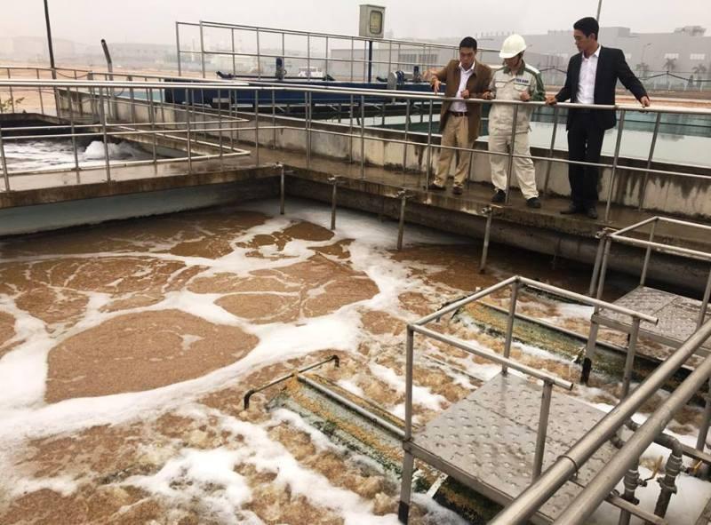 KCN Yên Bình: Xử lý nước thải đảm bảo môi trường