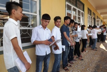 thai nguyen tren 60 thi sinh dang ky xet tuyen dai hoc cao dang bang bai thi to hop khoa hoc xa hoi