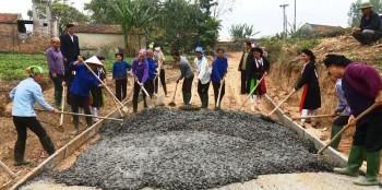 Thái nguyên phấn đấu thực hiện mục tiêu xây dựng nông thôn mới