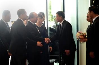 Thủ tướng Nguyễn Xuân Phúc đến Bangkok thăm chính thức Thái Lan