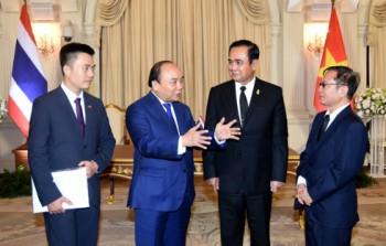 Thủ tướng Nguyễn Xuân Phúc hội đàm Thủ tướng Thái Lan