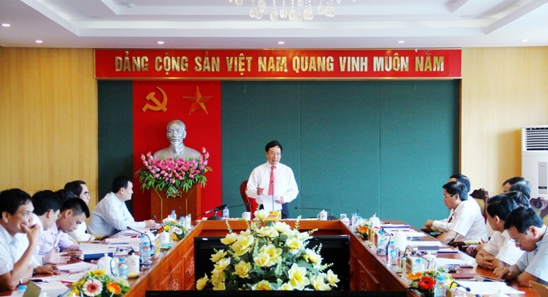 pho thu tuong chinh phu pham binh minh tham va lam viec tai thai nguyen