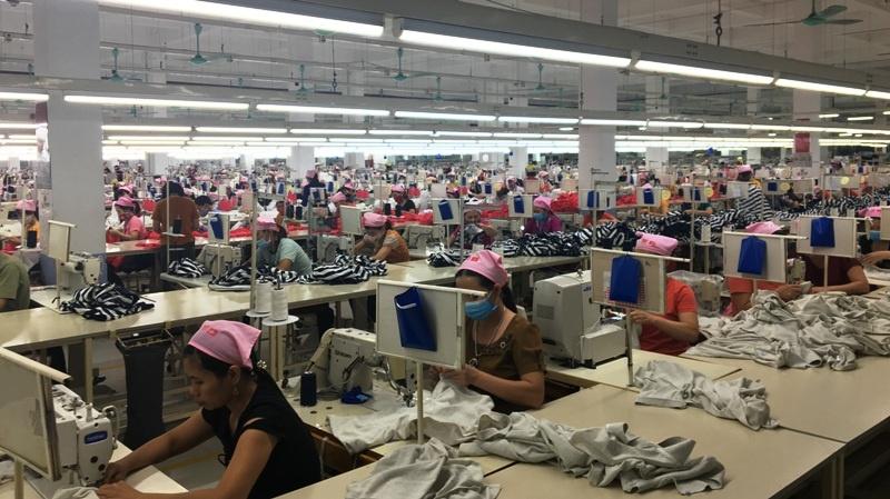 Nhà máy May Shinwon Thái Nguyên đạt doanh thu 80 triệu USD