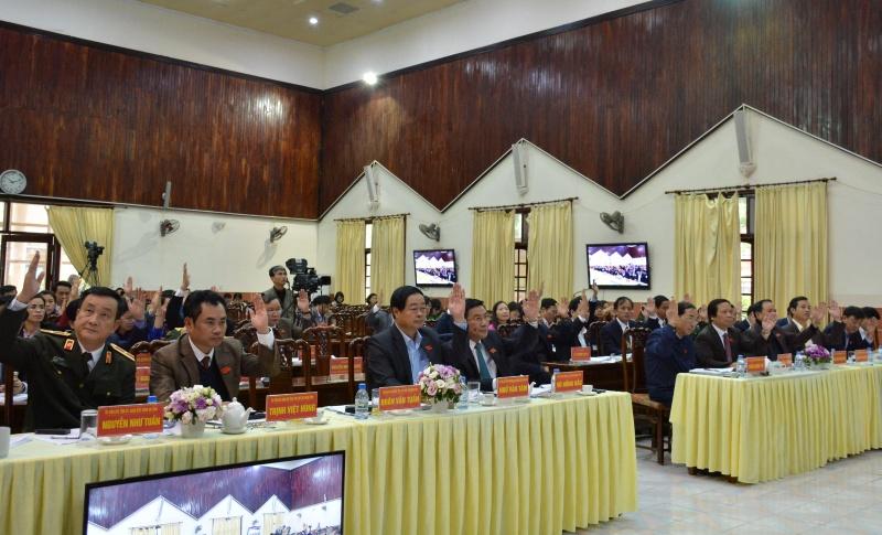 Thông qua 24 dự thảo Nghị quyết và Bế mạc Kỳ họp thứ 8, HĐND tỉnh Thái Nguyên khóa XIII