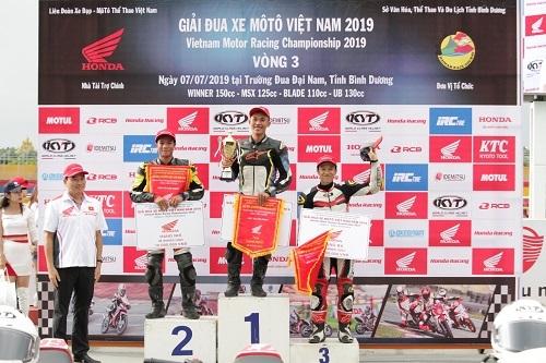 vietnam motor racing 2019 ket thuc chang 3 tai binh duong