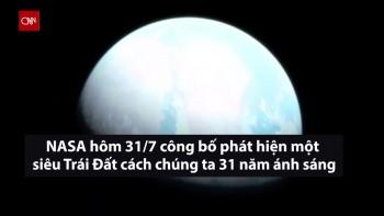 nasa phat hien sieu trai dat co the ton tai su song