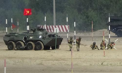 Bộ đội công binh Việt Nam vào chung kết hội thao quân sự quốc tế