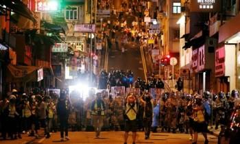Trung Quốc tuyên bố 'không khoanh tay nhìn' biểu tình Hong Kong