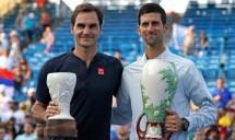djokovic chung nhanh federer o cincinnati masters 2019