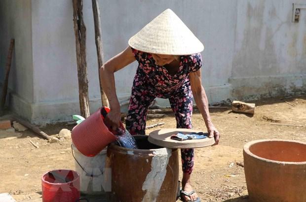 Phú Yên: Khẩn trương cấp nước sinh hoạt cho người dân vùng hạn nặng | Xã hội | Vietnam+ (VietnamPlus)