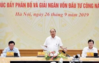 Thủ tướng: Giải ngân vốn đầu tư công là nhiệm vụ chính trị trọng tâm