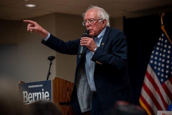 Thượng Nghị sỹ Mỹ Bernie Sanders nhập viện khi đang tranh cử