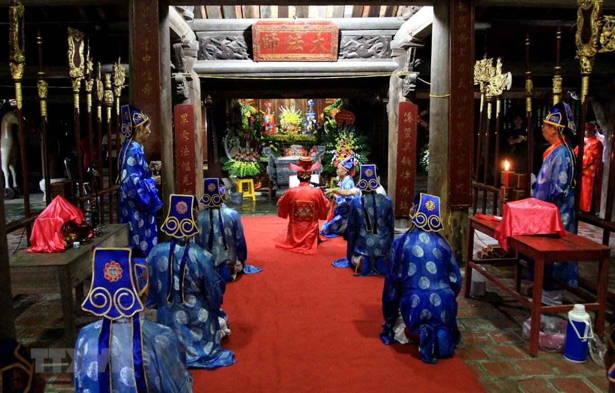 Lễ hội Thu chùa Keo: Nghi thức phong phú, đậm đà sắc thái dân gian