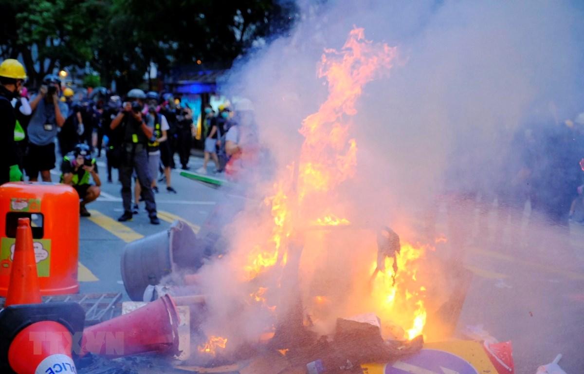 Cảnh sát Hong Kong tái khẳng định không dung thứ các hành vi bạo lực