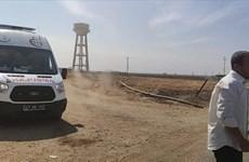 Tấn công bằng pháo cối gây thương vong tại biên giới Syria-Thổ Nhĩ Kỳ