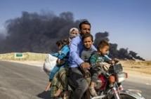 video cong dong nguoi kurd tai syria den iraq de ti nan