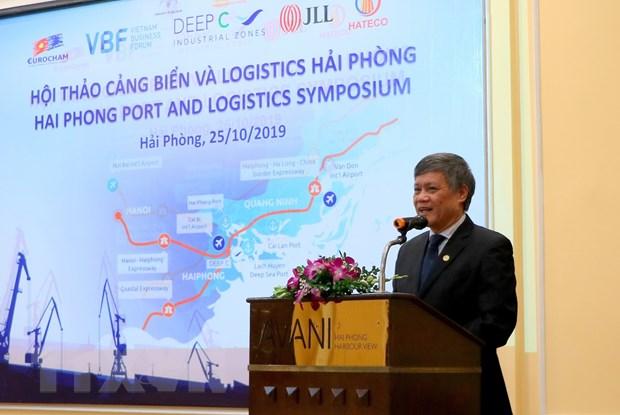 Xây dựng Hải Phòng trở thành trung tâm logistics hiện đại của đất nước