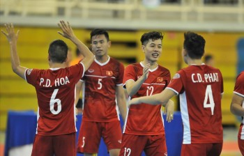 Việt Nam giành vé tham dự vòng chung kết futsal châu Á 2020